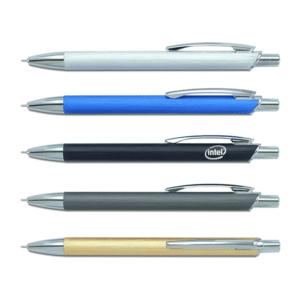 עט מתכת עם לוגו מתנה לעסקים במגוון צבעים