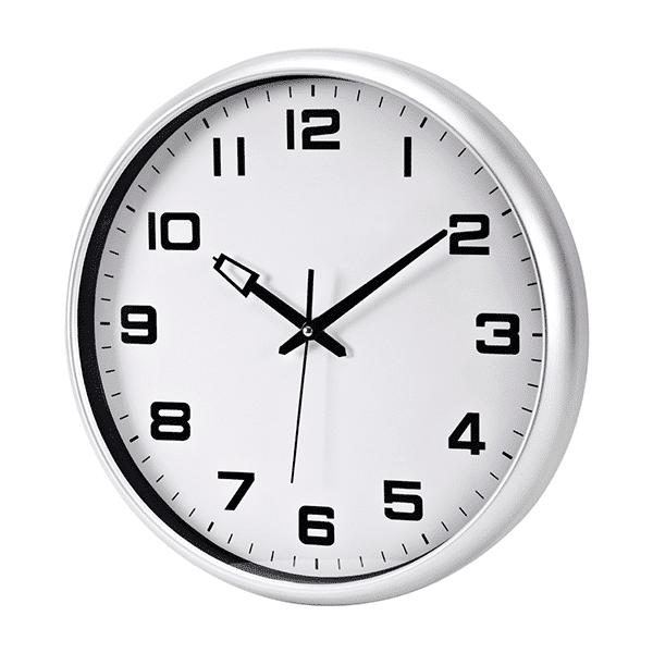שעון קיר גדול למשרד