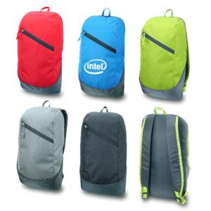 תיק גב ממותג מוצר פרסום לעסקים במגוון צבעים