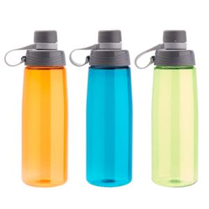 בקבוק ספורט עם מכסה מגוון צבעים