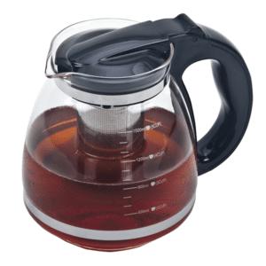 קנקן תה לחליטה שחור