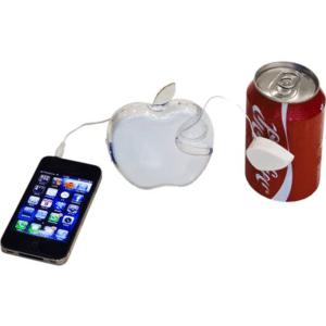 רמקול עם תהודה תפוח