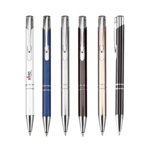 אביחי עט כדורי כולל לוגו לעסקים במגוון צבעים