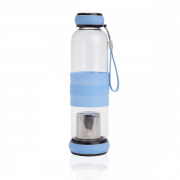אביקם בקבוק זכוכית לחליטות כחול