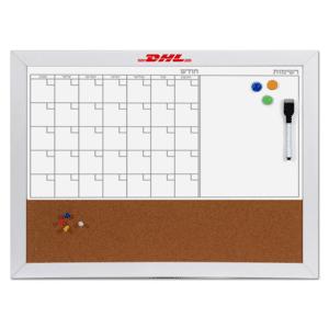 לוח ארגון חודשי מתנה משרדית ממותגת