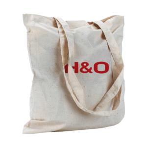 תיק ממותג מתנה לכנס. מבד כותנה טבעית