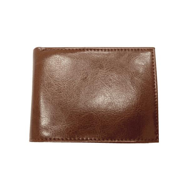 ארנק עור לכרטיסי אשראי ושטרות