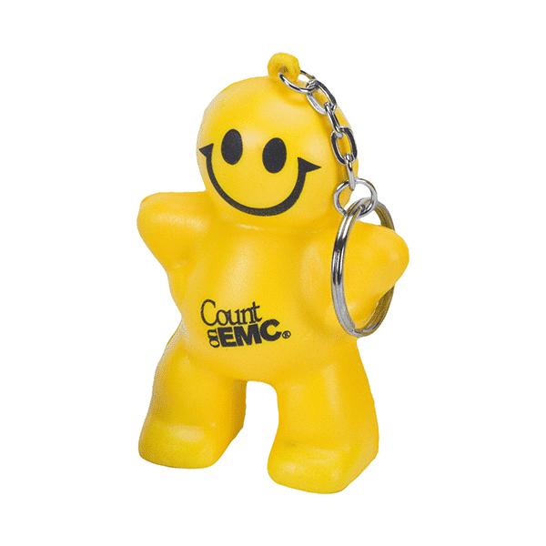 מחזיק מפתחות בובת סמיילי